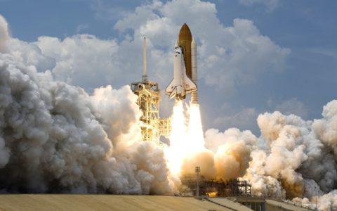 Start rakiety kosmicznej Challenger